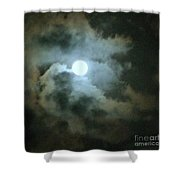 Night Of The Moon Shower Curtain