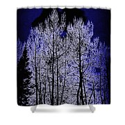 Night Of The Wolf Shower Curtain