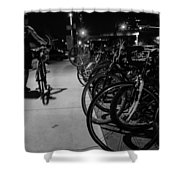 Night Rider Shower Curtain