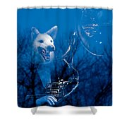 Night Sonata Shower Curtain