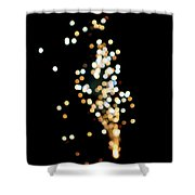 Night Sparkle Shower Curtain