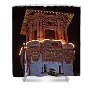 Night Tower Shower Curtain