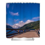 Night Visions Shower Curtain