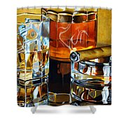 Nightcap 2 Shower Curtain