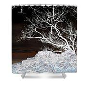 Nightfall Negative Shower Curtain