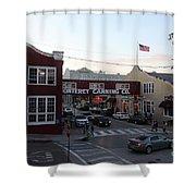 Nightfall Over Monterey Cannery Row California 5d25146 Shower Curtain