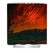 Nightfire Shower Curtain