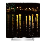Nightime Reflections Shower Curtain