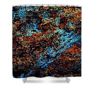 Nightlife - Abstract Panorama Shower Curtain