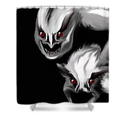 Nightmare Companions Shower Curtain