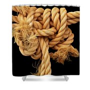 Nightmare Knot Shower Curtain