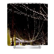 Nights Of Lights Shower Curtain