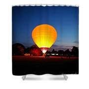 Night's Sunshine Shower Curtain