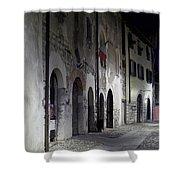 Nightscape. Iseo Shower Curtain