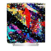 Nighttown Xii Shower Curtain