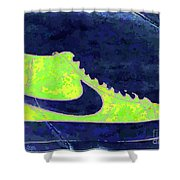 Nike Blazer 3 Shower Curtain by Alfie Borg