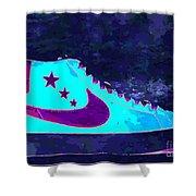 Nike Blazer Shower Curtain by Alfie Borg