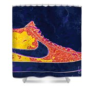 Nike Blazers 4 Shower Curtain by Alfie Borg