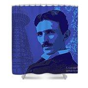Nikola Tesla #2 Shower Curtain