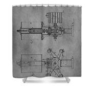 Nikola Tesla's Patent Shower Curtain