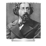 Nikolai Chernyshevsky (1828-1889) Shower Curtain