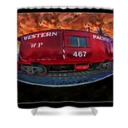 Niles Western Pacific Shower Curtain