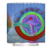 Nine Eleven Image Shower Curtain