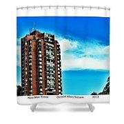 Nine Mile Tower Shower Curtain