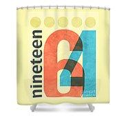 Nineteen 64 Shower Curtain