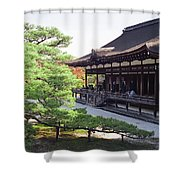 Ninna-ji Temple Garden - Kyoto Japan Shower Curtain