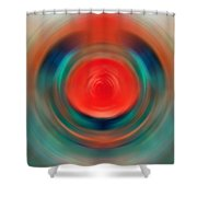 Nirvana - Energy Art By Sharon Cummings Shower Curtain