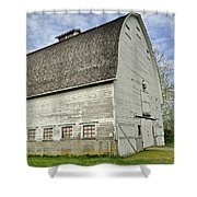 Nisqually National Wildlife Refuge Barn Shower Curtain