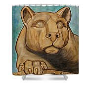 Nittany Lion Shower Curtain