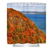 N.j. Palisades Awesome Autumn  Shower Curtain