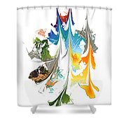No. 1014 Shower Curtain