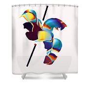No. 1020 Shower Curtain