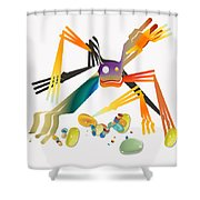 No. 1078 Shower Curtain