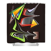 No. 1081 Shower Curtain