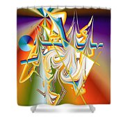 No. 1082 Shower Curtain