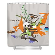 No. 1092 Shower Curtain