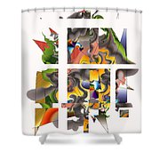 No. 1105 Shower Curtain