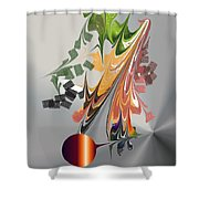 No. 1111 Shower Curtain