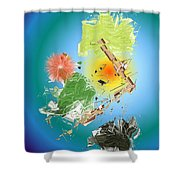 No. 1134 Shower Curtain