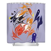 No. 123 Shower Curtain