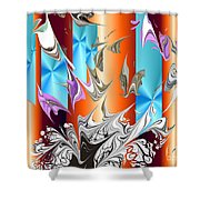 No. 129 Shower Curtain