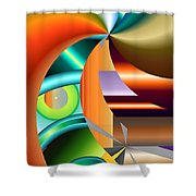 No. 130 Shower Curtain