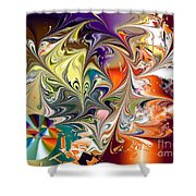 No. 143 Shower Curtain