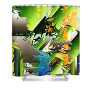 No. 148 Shower Curtain