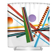 No. 203 Shower Curtain