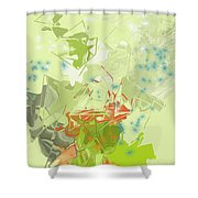 No. 225 Shower Curtain